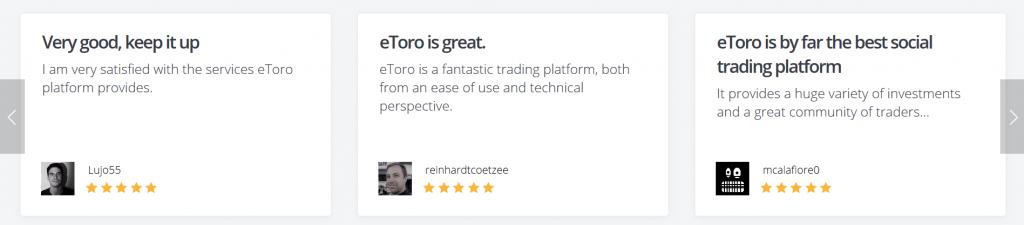 eToro Review: Client Feedback