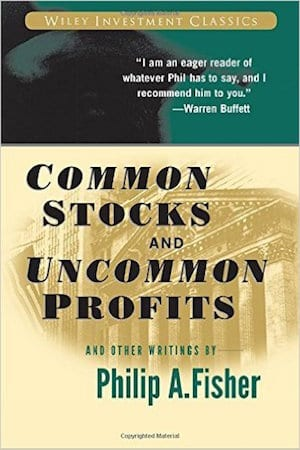 stock market book by phillip fisher called common stocks and uncommon profits